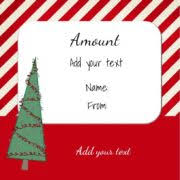 free printable christmas gift certificate template example with