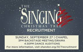 blog the singing christmas tree a family tradition