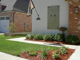 simple front yard landscaping ideas townhouse patio on a budget uk