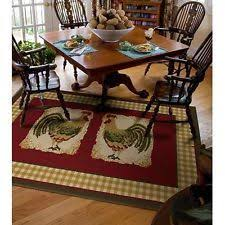 Country French Area Rugs 8 U0027 High Country Rooster Area Round Rug Collection Accessories