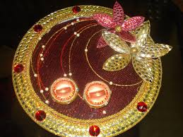 Plate Decoration For Engagement Indian Wedding Ring Trays Tbrb Info