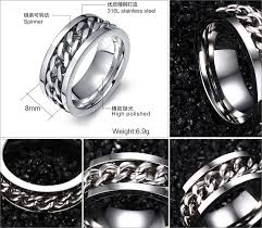aliexpress buy new arrival fashion rings for men aliexpress buy newbuy fashion chain ring for men three