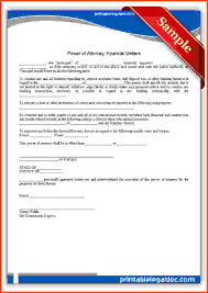 Free Power Of Attorney Form Nj by Power Of Attorney Form Free Printable Printable Power Of Attorney