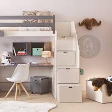 Breiter Schreibtisch Asoral Hochbett Loft Xl Liso Mit Treppe Schreibtisch 4 Stauraum