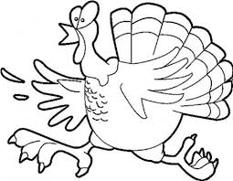 funny turkey coloring pages coloring