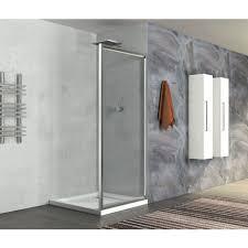 parete fissa doccia fissa da 70 a 90 cm da abbinare ad altro box doccia cristallo 6mm