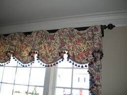livingroom valances modern window valance with autumn leaves pattern interior