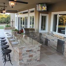 outside kitchen ideas 15 ideas for highly functional traditional outdoor kitchens