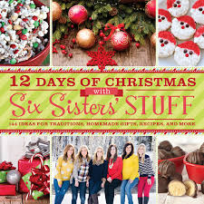 cook scrap craft 12 days of christmas with six sisters u0027 stuff