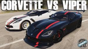 viper or corvette rivals battle 2015 corvette z06 vs 2013 viper gts forza