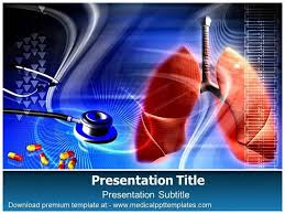 powerpoint design lungs lung disease powerpoint template authorstream