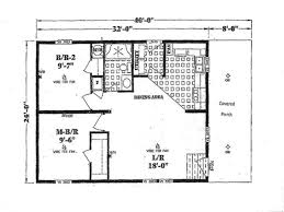 Cottage Floor Plans Canada 2 Bedroom House Plans Open Floor Plan With One Houseapartment