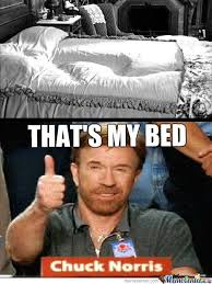 Meme Chuck Norris - chuck norris bed by krayzie meme center