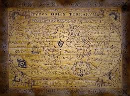 leather map leather map antique 1587 this map is based on the