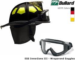 bullard ustm traditional fire helmet matte finish