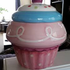 best new ceramic cupcake cookie jar for sale in maple valley