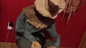 deady teddy spirit halloween tekky toys sitting scarecrow 2016 youtube