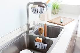 kitchen sink cabinet sponge holder the best sponge holders of 2021 bob vila