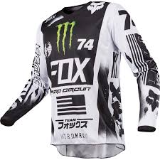 monster motocross gloves fox racing 180 monster pro circuit special edition jersey
