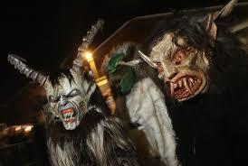 Krampus Costume Krampus Creatures Parade In Search Of Bad Children