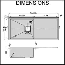 Standard Kitchen Sink Size Kitchen by Kitchen Standard Size Kitchen Sink For Top Kitchen Standard