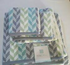 Aqua Towels Bathroom Bathroom Peri Bath Towels U0026 Washcloths Ebay