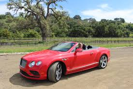 bentley red convertible touring orange county to santa barbara three days two buddies