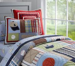 Baseball Comforter Full Junior Varsity Quilt Pottery Barn Kids