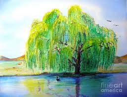 david s willow tree painting by susan clark