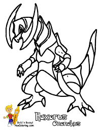 download pokemon coloring pages axew