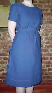 Old Curtains Wardrobe Refashion A Dutch Blue Dress From Old Curtains