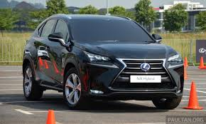 driven lexus nx straight off the set of alien