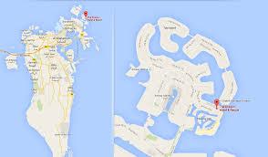 Map Of Bahrain Dragon Resort Hotel Bahrain Amwaj Islands Bahrain Suites