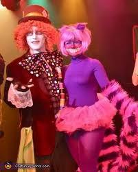 Cheshire Cat Costume Mad Hatter And Cheshire Cat Homemade Couple U0027s Costume Photo 2 8