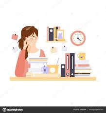telecharger bureau femme employée de bureau en bureau cabine avec trop avoir