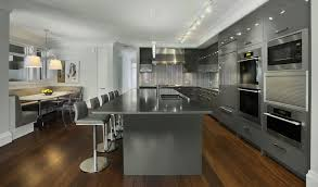 Gray Kitchen Cabinets bination With Other Colors Ideas Wall