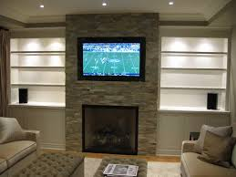 feature wall ideas living room with fireplace contemporary fireplace designs with tv above ward log homes