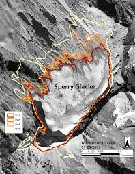Montana On Usa Map by Glaciers Rapidly Shrinking And Disappearing 50 Years Of Glacier