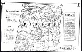Nc Counties Map Historic Durham County And City Maps
