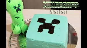 minecraft pastasi şeker hamurundan leziz pasta ve kurabiyeler