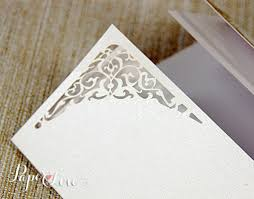 laser cut wood invitations personalised laser cut intricate wedding invitations day white