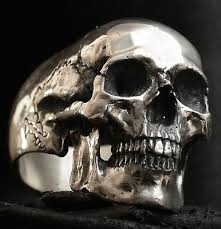mens rings skull images Bague shiny pinterest rings jewelry and mens silver rings jpg