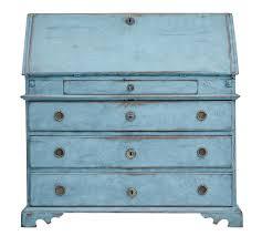 bureau turquoise 19th century painted bureau loveantiques com
