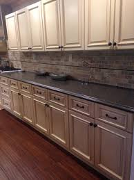 Bamboo Cabinets Kitchen Cabinets Are Ghi Tuscany Maple Counter Top Color Is Labrador