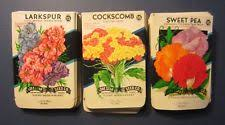 cheap seed packets flower seed packets ebay