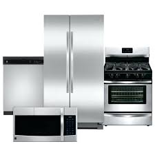 4 piece samsung stainless steel kitchen appliance package packages