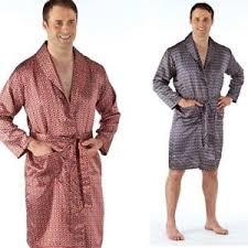robe de chambre homme peignoir homme satin kimono soie robe de chambre col châle m l xl