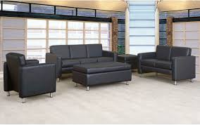 contemporary sofa leather commercial 3 seater tribute