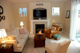 Living Room Setup With Fireplace by Living Room Awesome Living Room Fireplace Mirror Frame Black