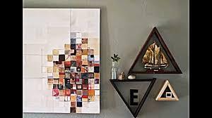 Wohnzimmer Regale Design Dreieck Regal Selber Bauen Praktische Wanddeko Die Stauraum